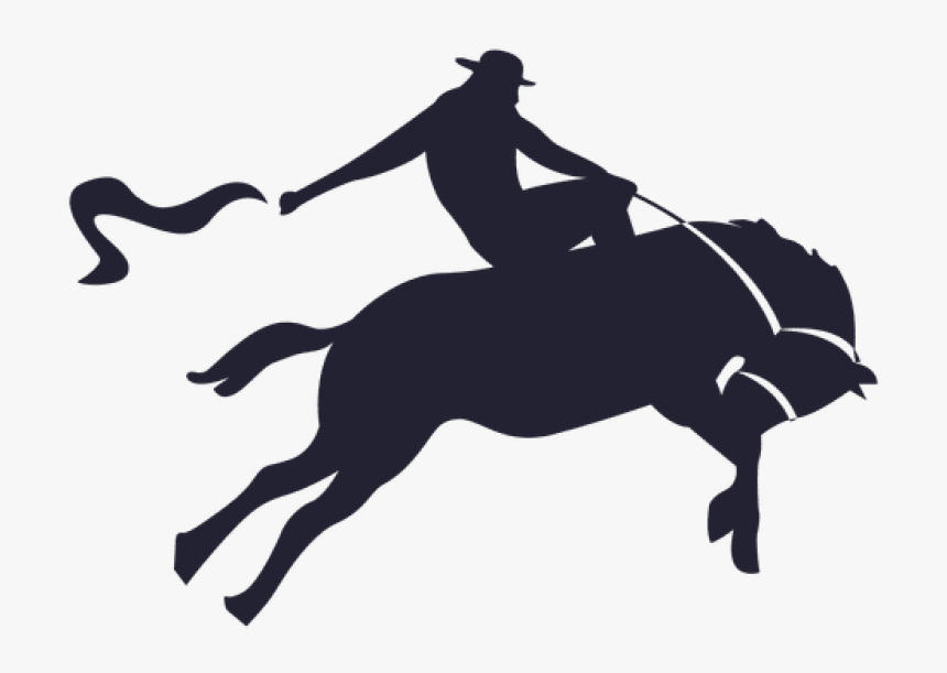 Cowboy Silhouette Png Image - Cowboy, Transparent Png, Free Download