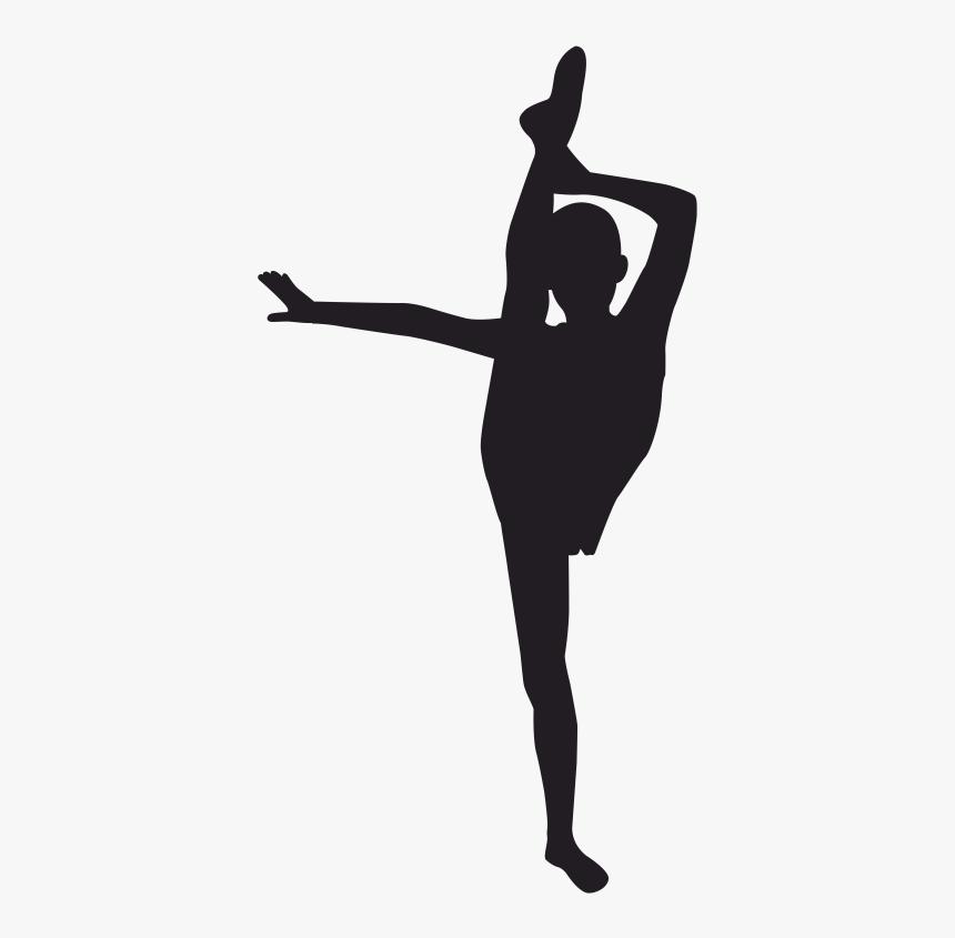 Back Handspring Gymnastics Silhouette, HD Png Download, Free Download