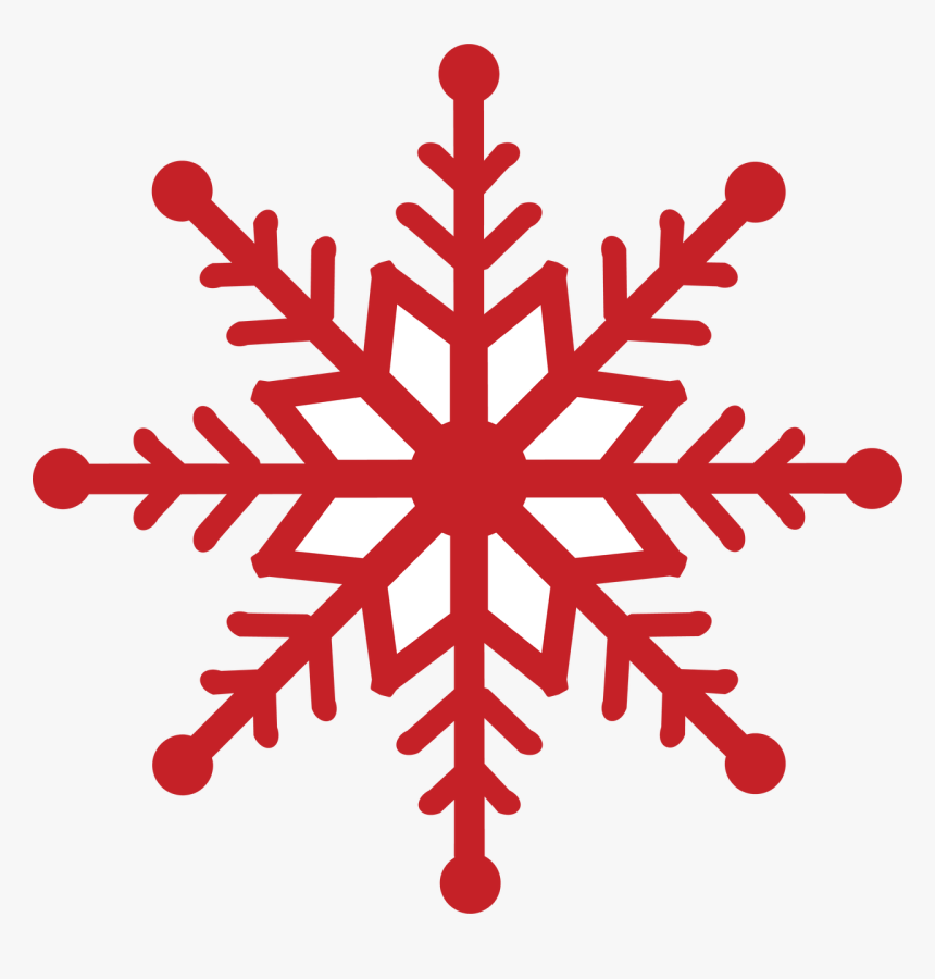 Winter Icon , Png Download - Transparent Background Red Snowflake, Png Download, Free Download