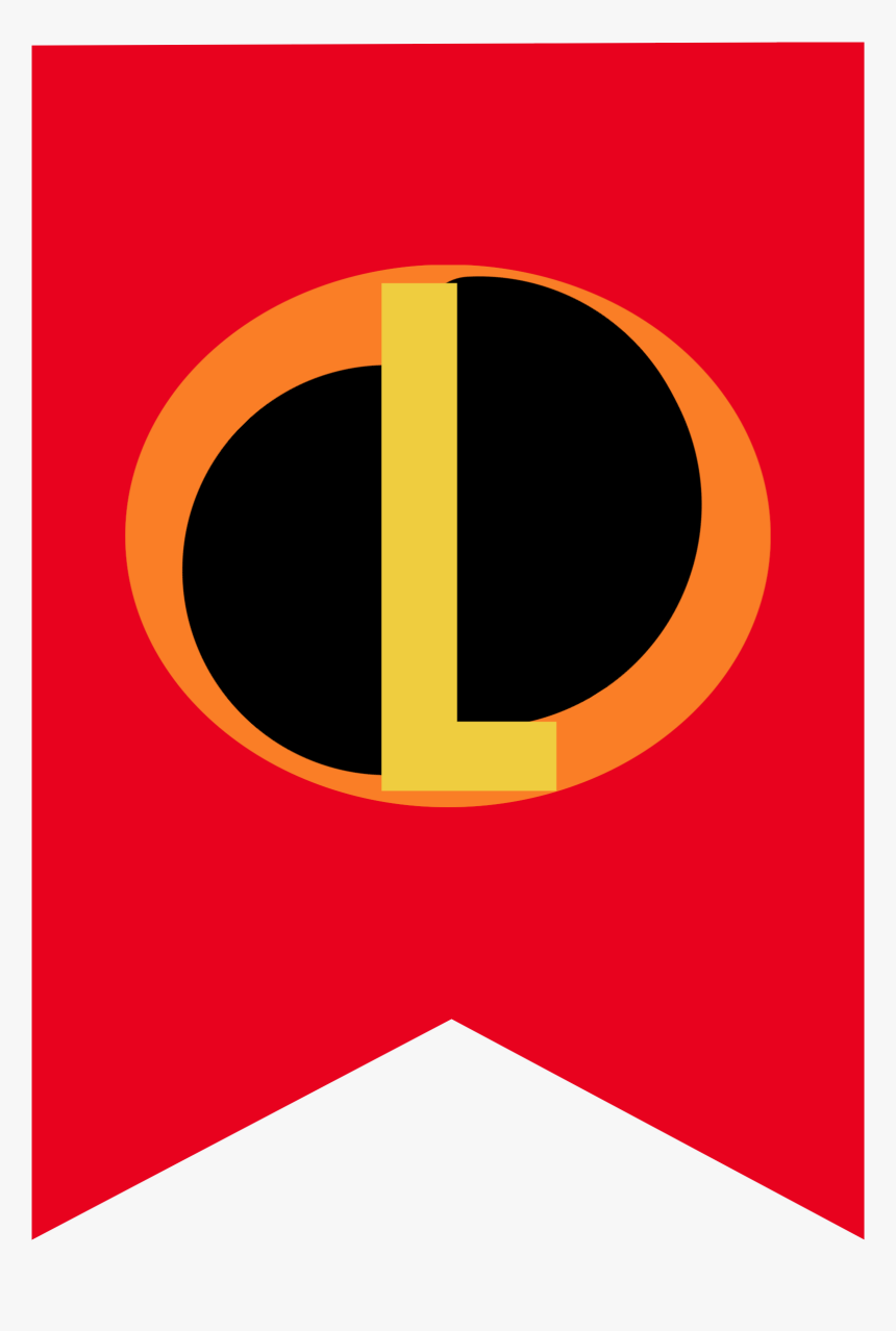 Incredibles Banner L - Party The Incredibles Banner, HD Png Download, Free Download