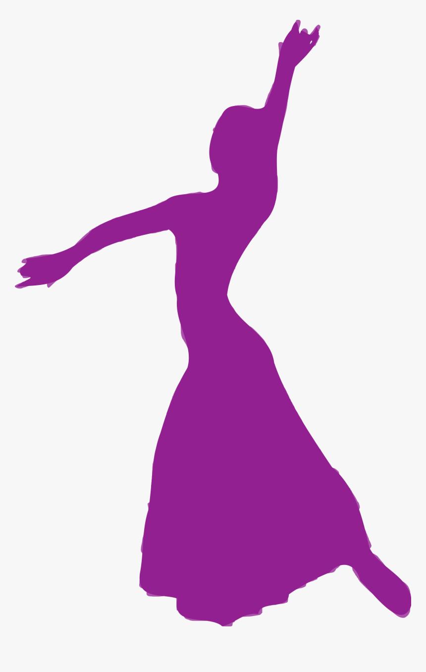 Ballet Dancer Silhouette Clip Art - Siluet Tari, HD Png Download, Free Download