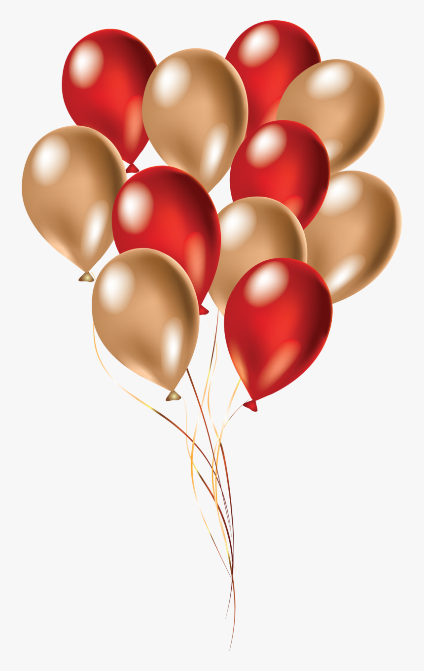 Balloons By Dennis - Birthday Balloons Red Png, Transparent Png, Free Download