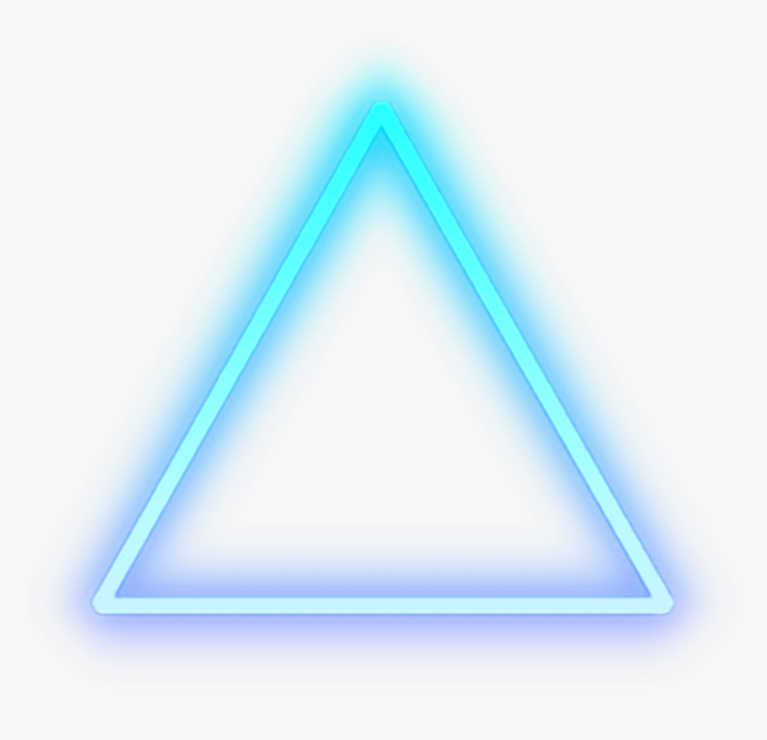Transparent Light Glow Png - Neon Triangle Png, Png Download, Free Download