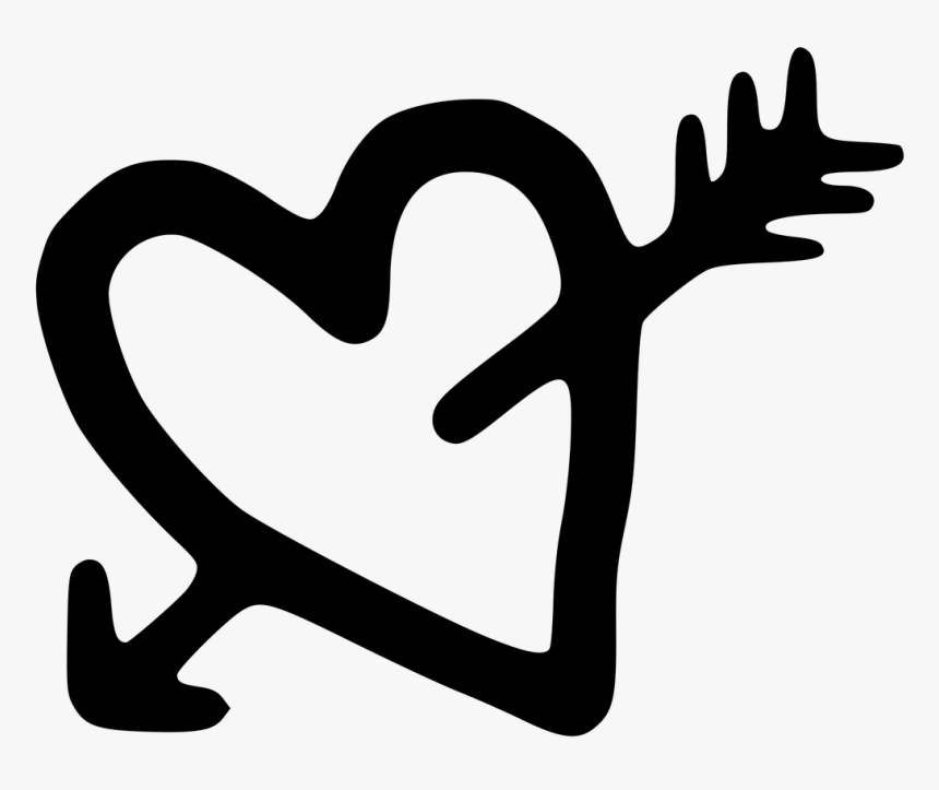 Heart And Arrow Png Transparent, Png Download, Free Download