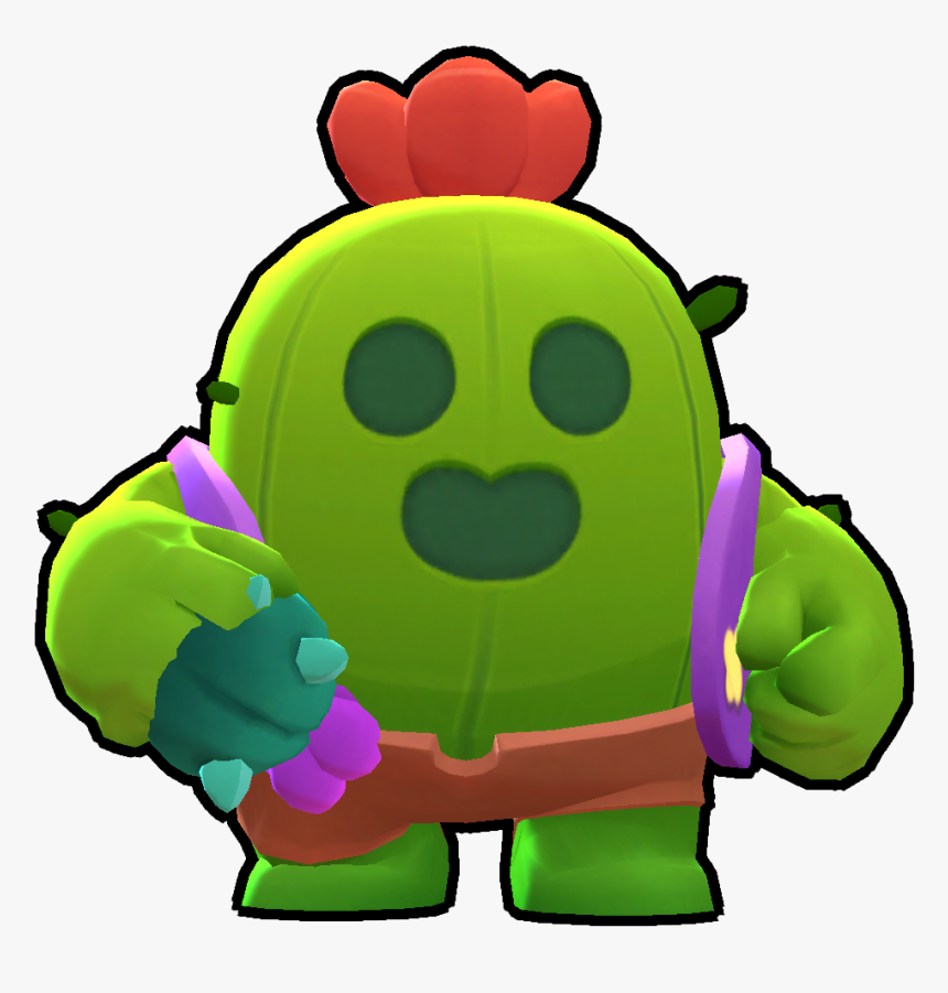 Spike Png Brawl Stars , Png Download - Spike From Brawl Stars, Transparent Png, Free Download