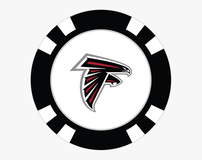 Atlanta Falcons Poker Chip Ball Marker - Dallas Stars Poker Chip, HD Png Download, Free Download