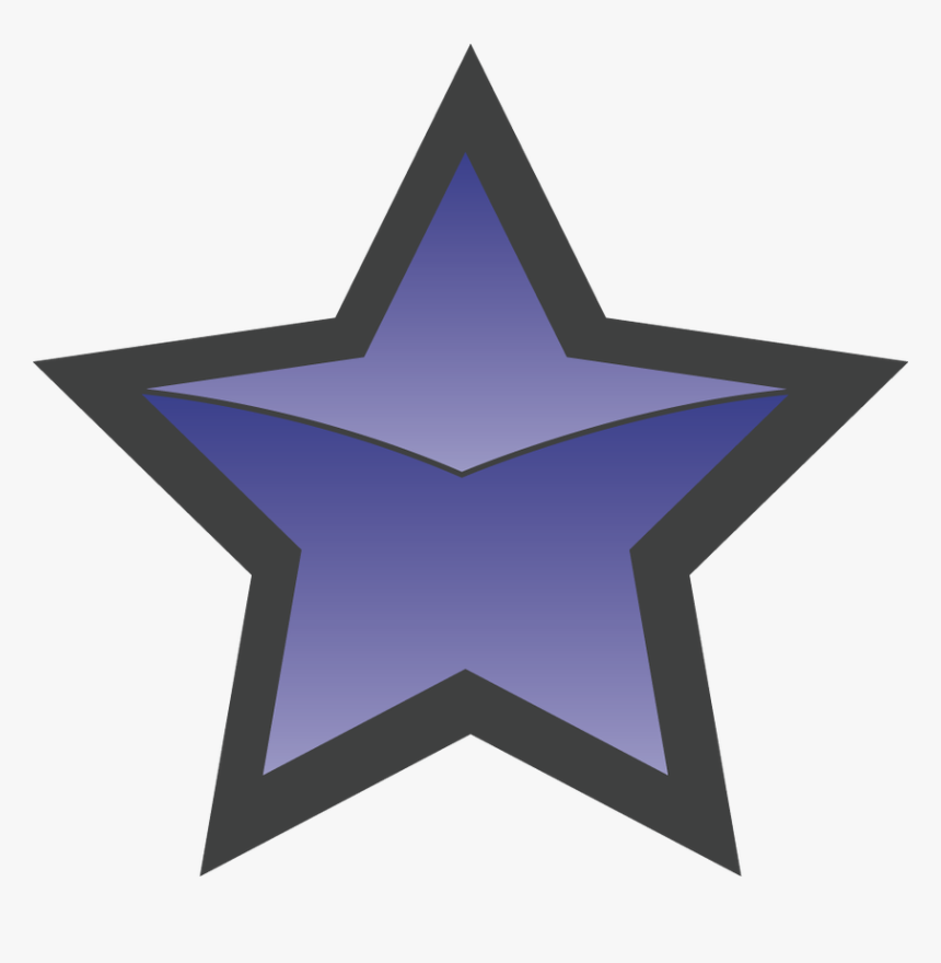 Free Clipart Star Shapes Graphic Royalty Free Stock - Hollywood Star Icon Png, Transparent Png, Free Download
