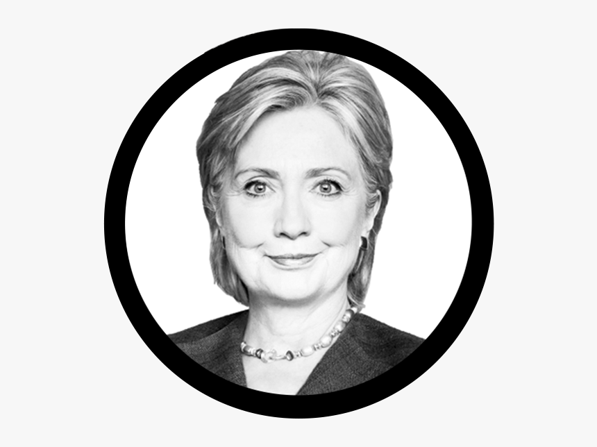 Hillary Face Png - Hillary Clinton White Background, Transparent Png, Free Download