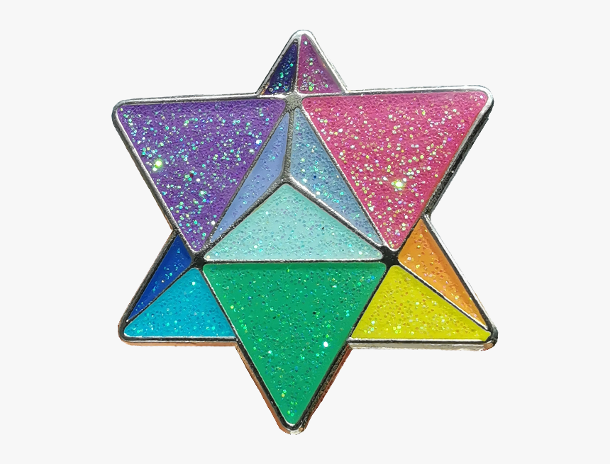 China Manufacture Star Shape Soft Enamel Epoxy Resin - Triangle, HD Png Download, Free Download