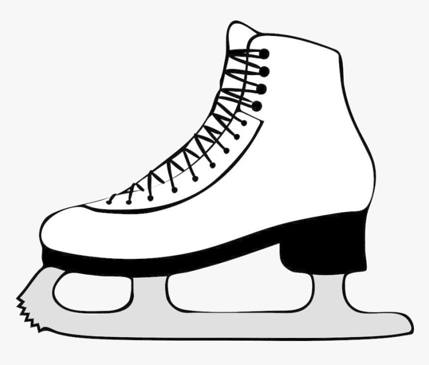 Ice Skates Png Hd - Ice Skate Clipart Transparent, Png Download, Free Download