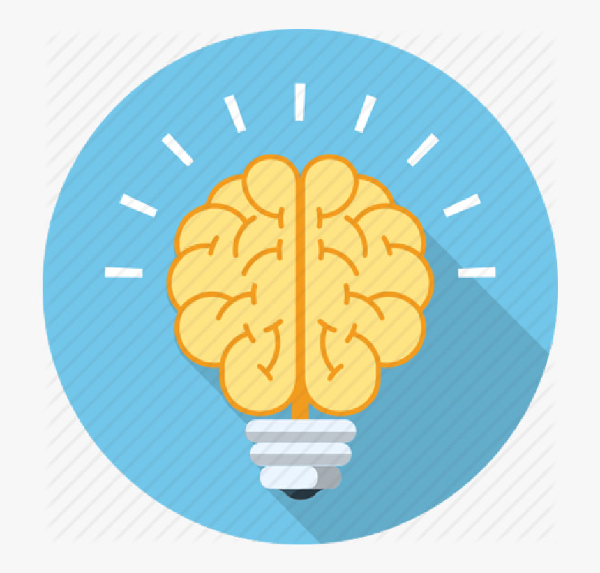 Brain Power Png Image - Vector Brain Icon Png, Transparent Png, Free Download