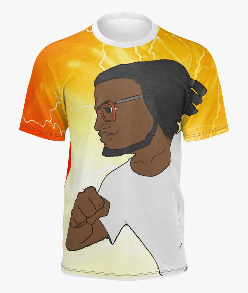 Kid Flash Tshirt - Active Shirt, HD Png Download, Free Download