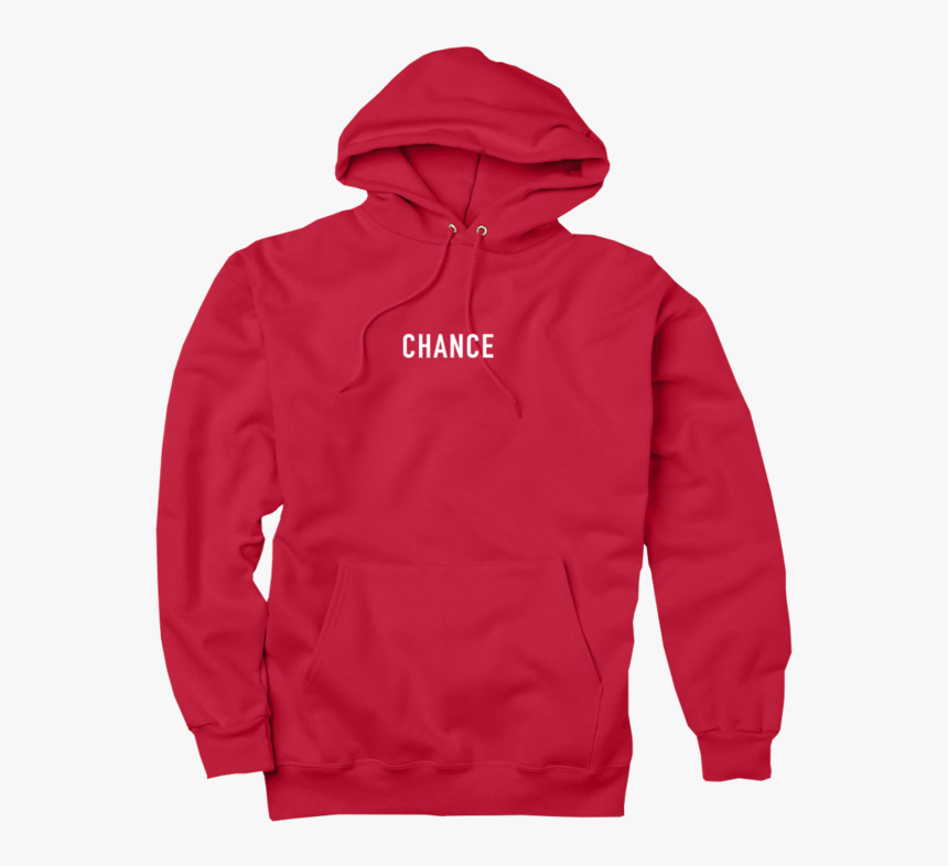 C3 Hoodie Red Front - Chance The Rapper Hoodie, HD Png Download, Free Download