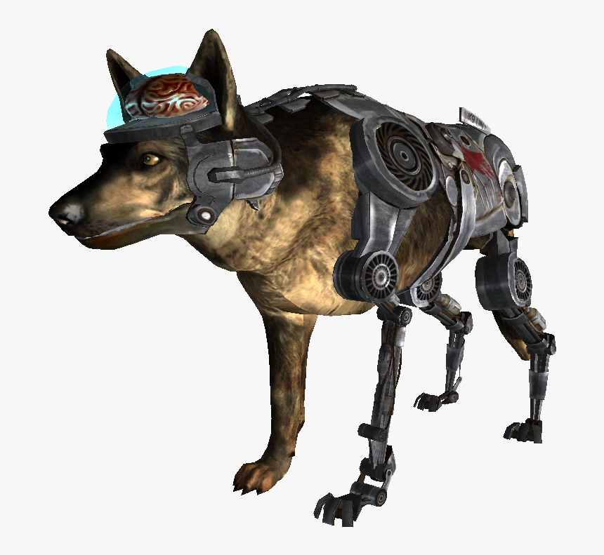 Nukapedia The Vault - Fallout Cyberdog, HD Png Download, Free Download