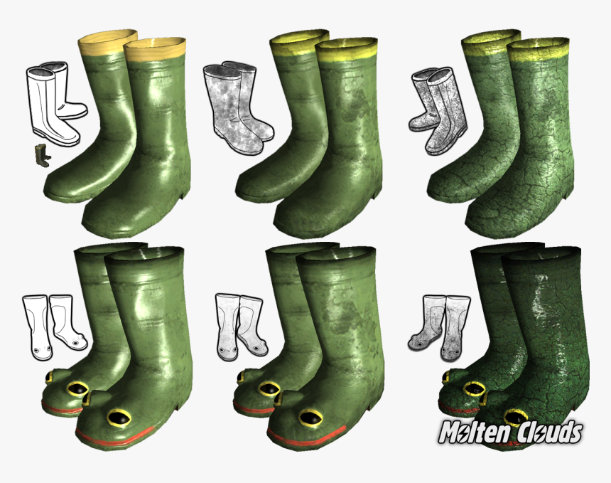 View Media - Rubber Boots Fallout 2, HD Png Download, Free Download