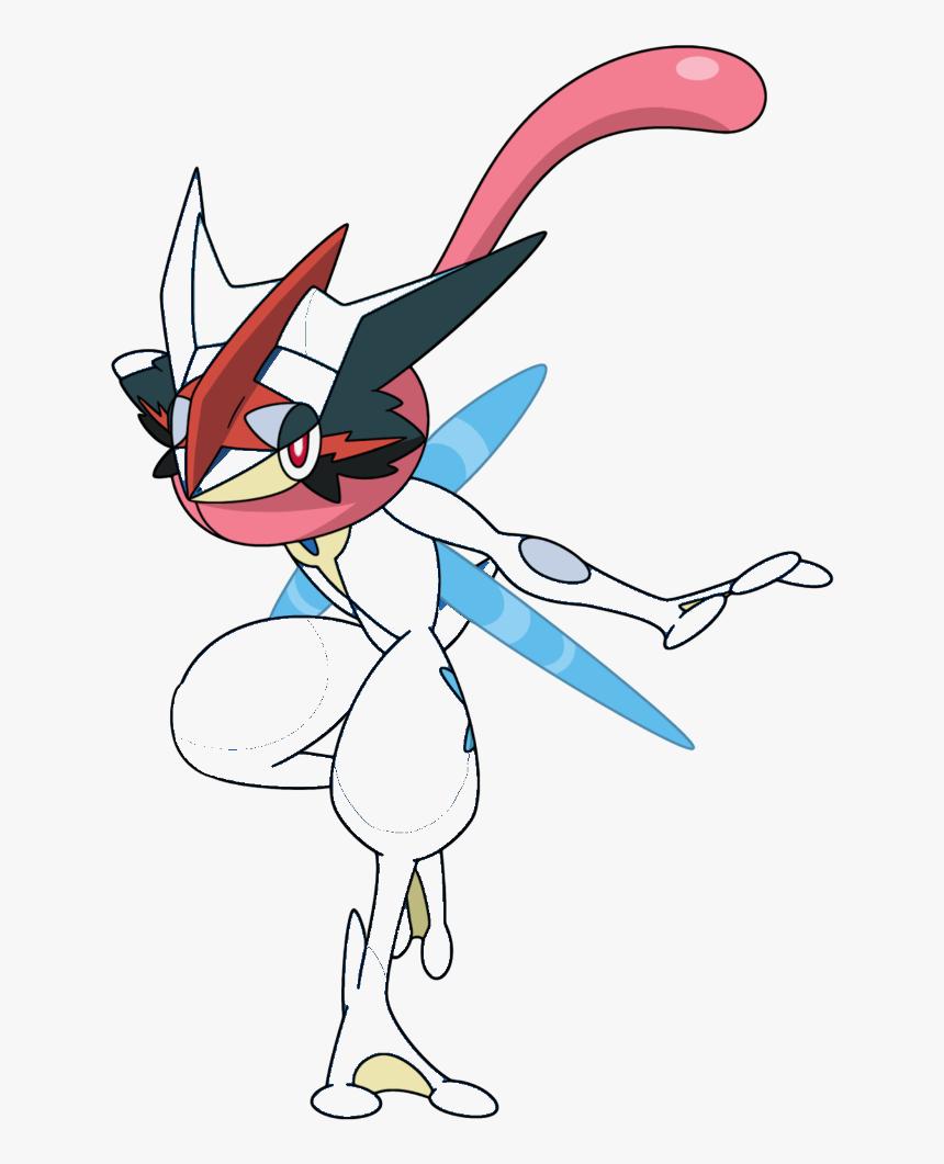 Invicble Greninja - 658 Greninja Ash Xy Anime Png, Transparent Png, Free Download