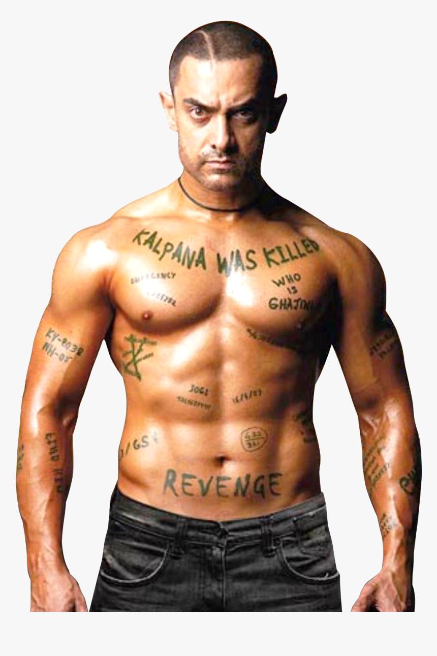 Aamir Khan In Ghajini Movie, HD Png Download, Free Download