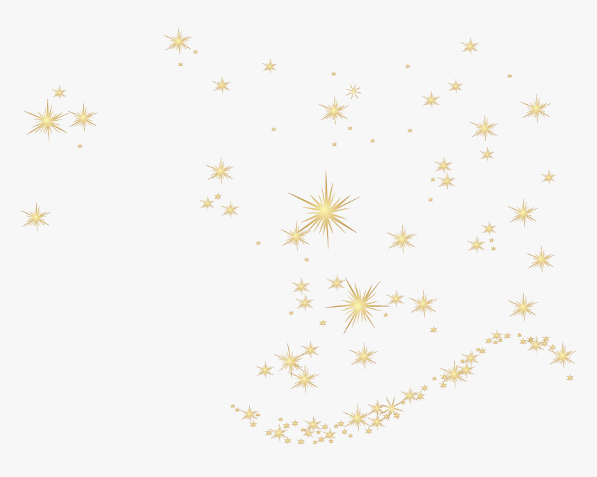 Christmas Gold Stars Png, Transparent Png, Free Download