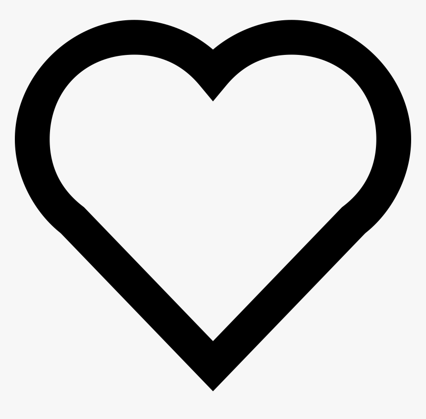 A Simple Heart - Emoji Heart Coloring Pages, HD Png ...