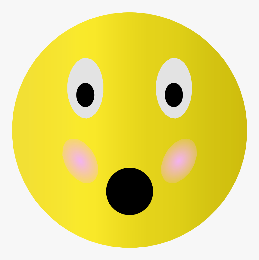 Embarrassed Smiley - Smiley, HD Png Download, Free Download