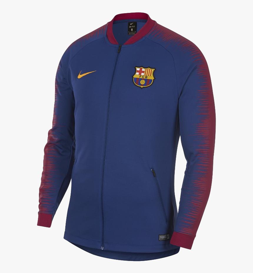 Fc Barcelona 2018 2019 Swit , Png Download - Nike Fc Barcelona Anthem Jacket Blue, Transparent Png, Free Download