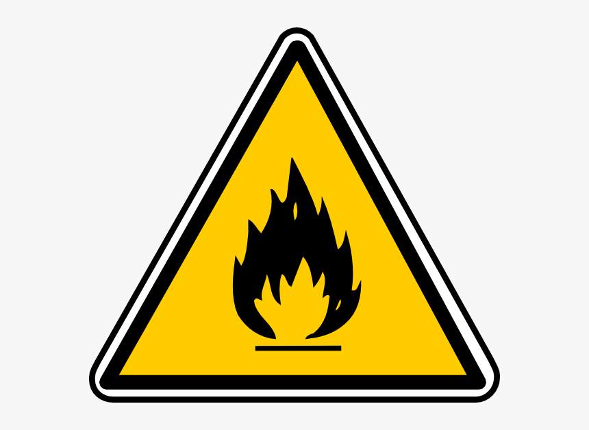 Inflammable Sign, HD Png Download, Free Download