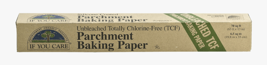 Baking Paper Roll 21m If You Care - Label, HD Png Download, Free Download