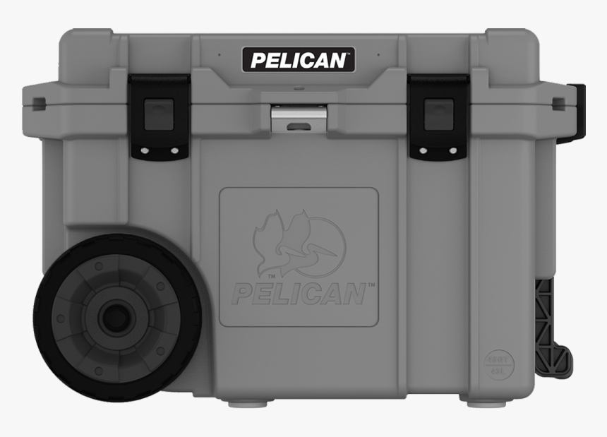 """Pelican™ 45qt Wheeled Elite Cooler""""  Class=""""lazyload - Pelican Products, HD Png Download, Free Download"""