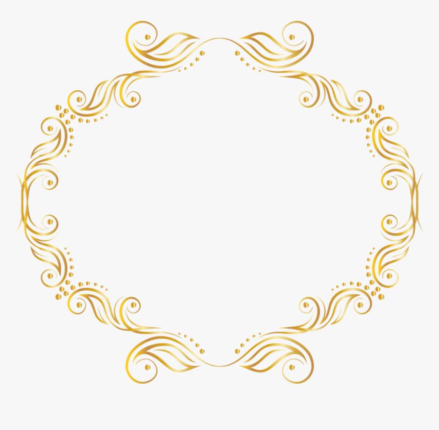 Frames, Image, Gold Stars, Frame, Picture Frames - Png Circle Border Design, Transparent Png, Free Download