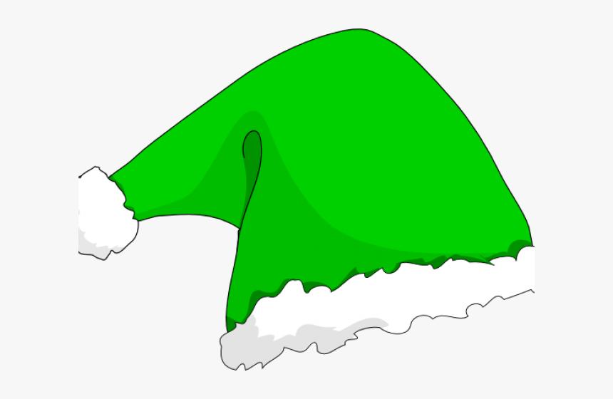 Santa Hat Clipart Snata - Cartoon Transparent Background Christmas Hat Png, Png Download, Free Download