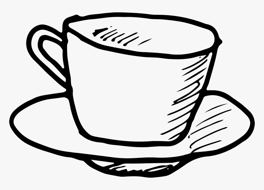 Outline Clipart Coffee Cup Coffee Cup Outline Png Transparent Png Kindpng