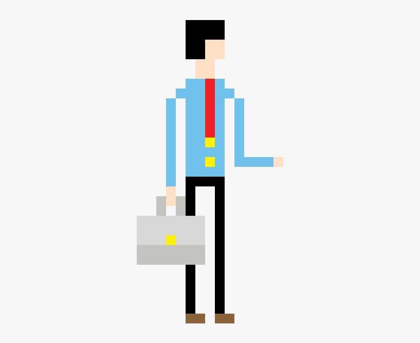 Worker Pixel Art Png, Transparent Png, Free Download