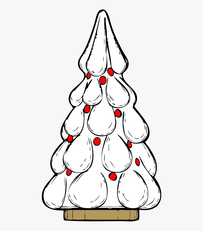 Snowy Xmas Tree Svg Clip Arts Xmas Tree Hd Png Download Kindpng