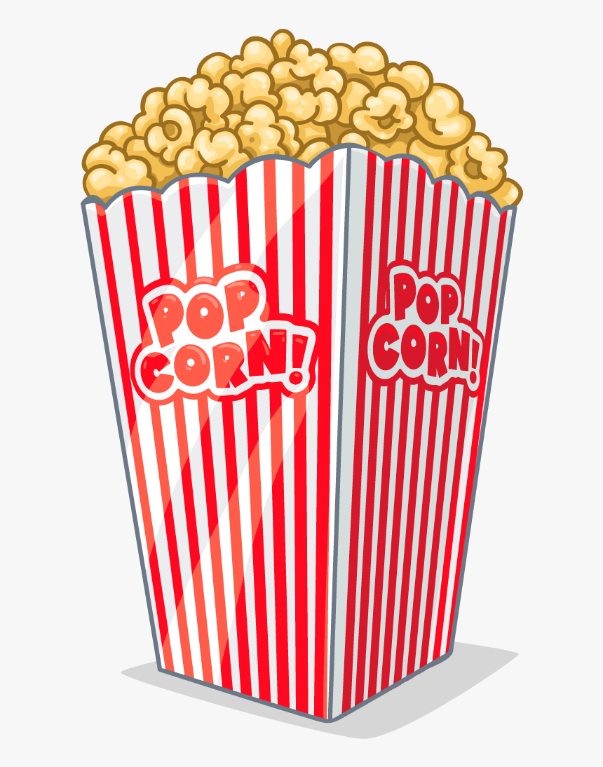Movie Clipart Movie Snack Popcorn Png Clipart Transparent Png Kindpng