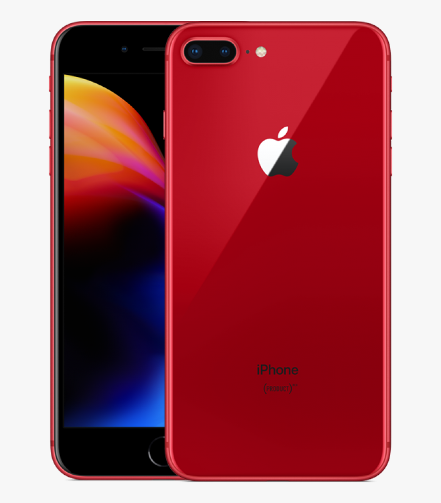 Iphone 8 Plus Red Transparent, HD Png Download, Free Download