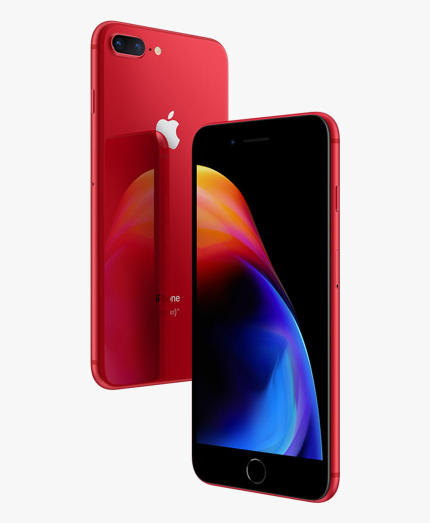 Iphone 8 Plus Red, HD Png Download, Free Download