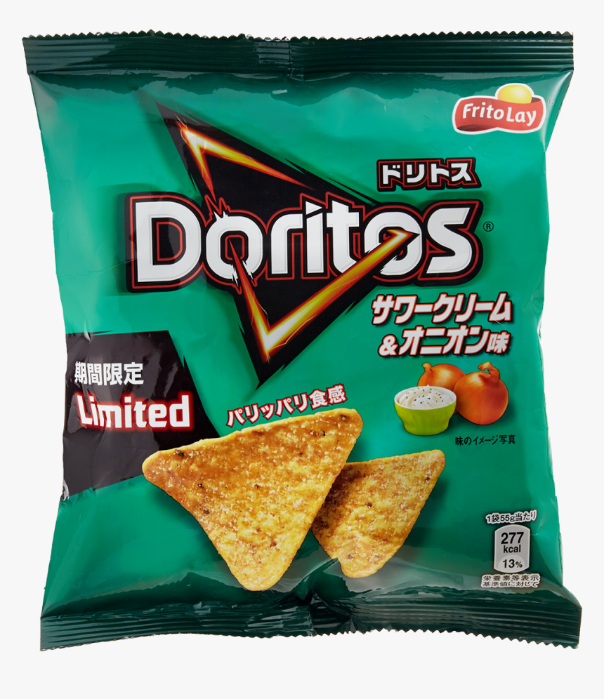 Sour Cream And Onion Doritos Japan, HD Png Download, Free Download