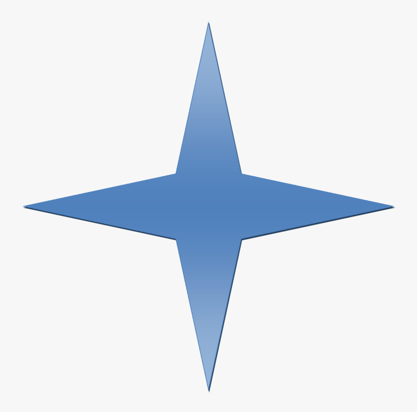 4 Point Star Png, Transparent Png, Free Download