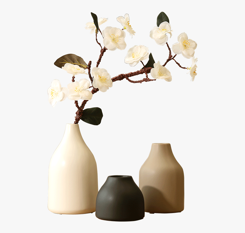 Artificial Plum Branch Peach Blossom Cherry Blossom - Japanese Home Accessories Png, Transparent Png, Free Download