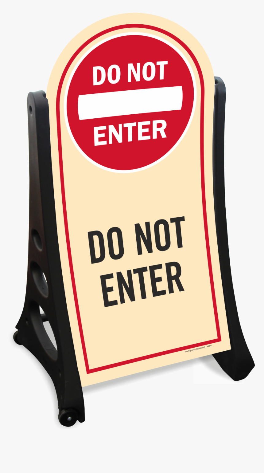 Not Enter Sign, HD Png Download, Free Download
