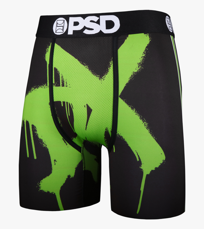 Green Boxer Brief By Psd Underwear, HD Png Download, Free Download