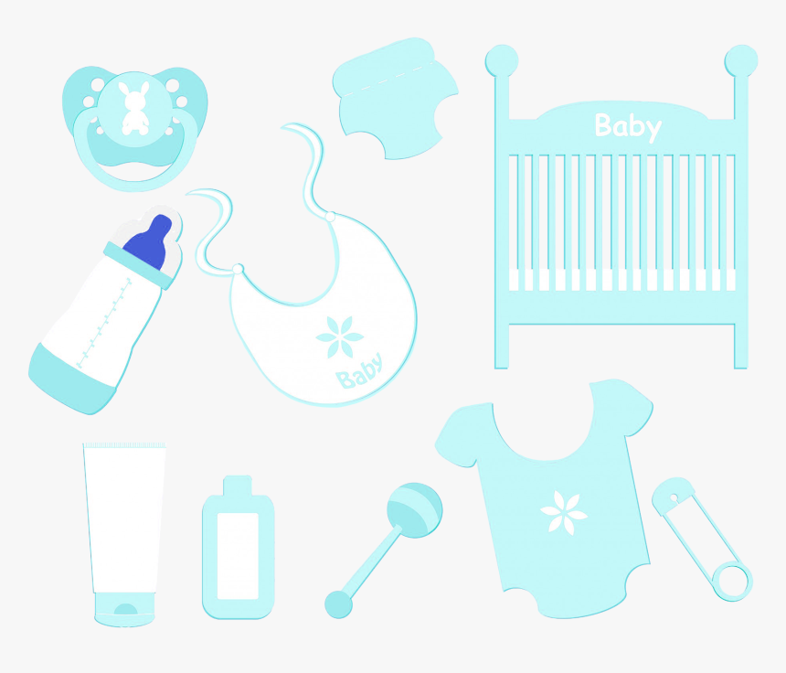Baby Boy Accessories Clipart, HD Png Download, Free Download