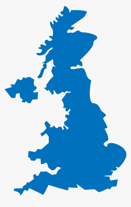 Scotland Kingdom Great Britain - United Kingdom Map Png, Transparent Png, Free Download