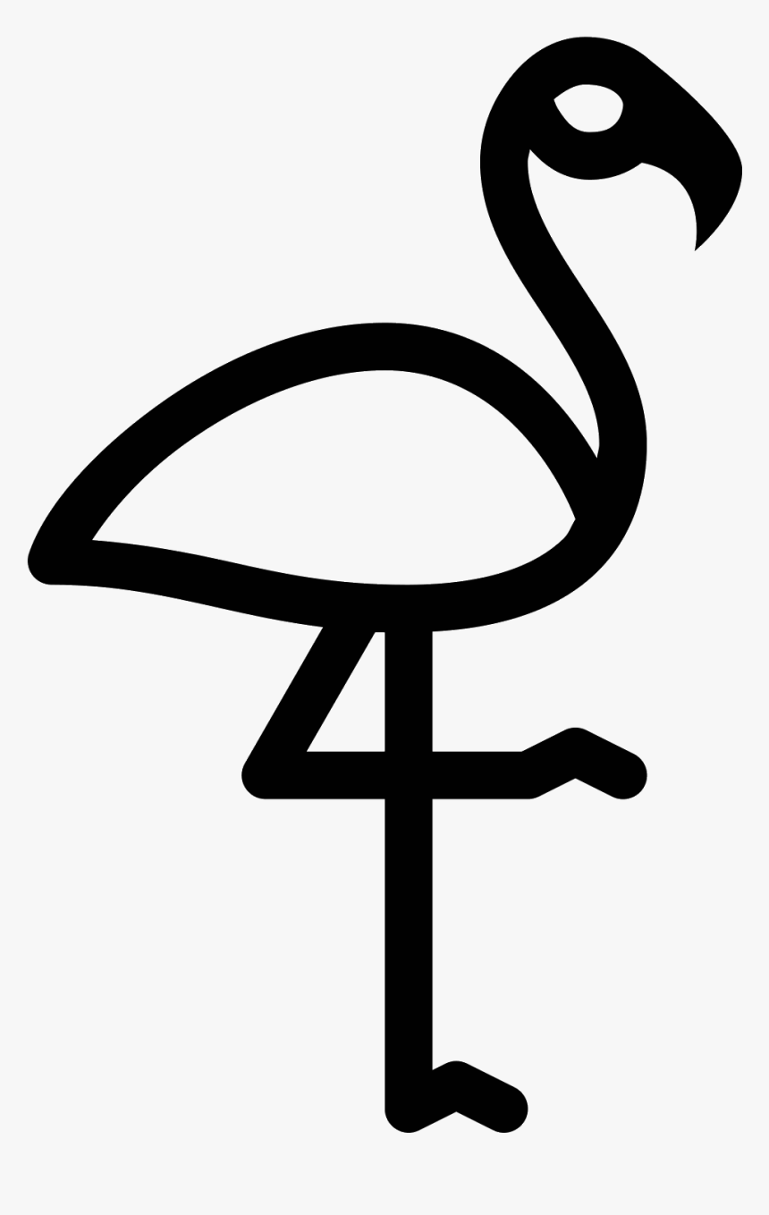 Flamingo Icon Png Clipart , Png Download - Flamingo Icon Png Transparan, Transparent Png, Free Download