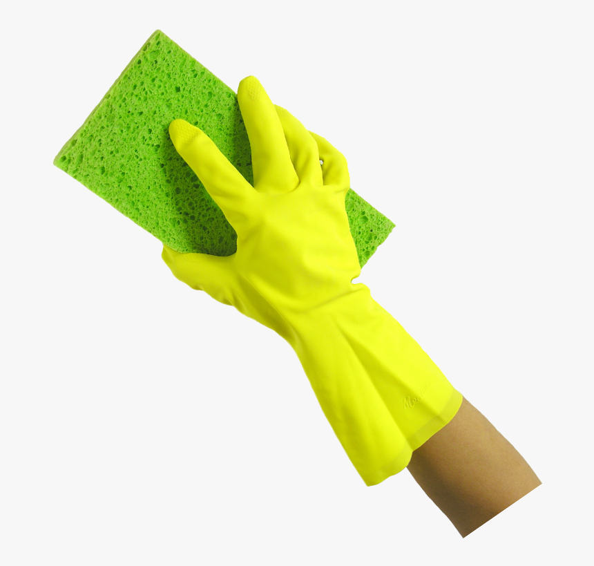 Washing Sponge In Hand Png - Hand And Sponge Png, Transparent Png, Free Download