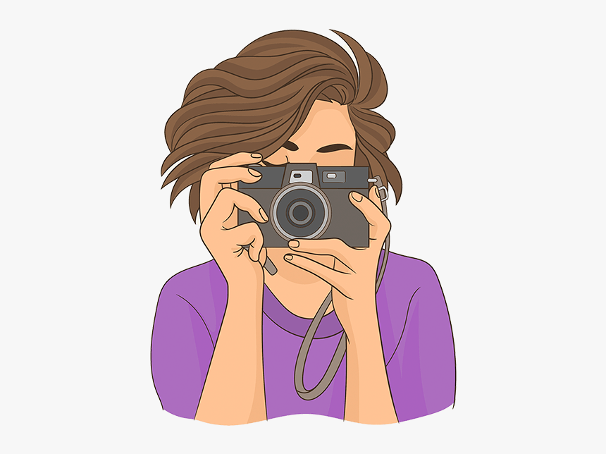 William Beem Photography Photographer With Camera Vector Hd Png Download Kindpng