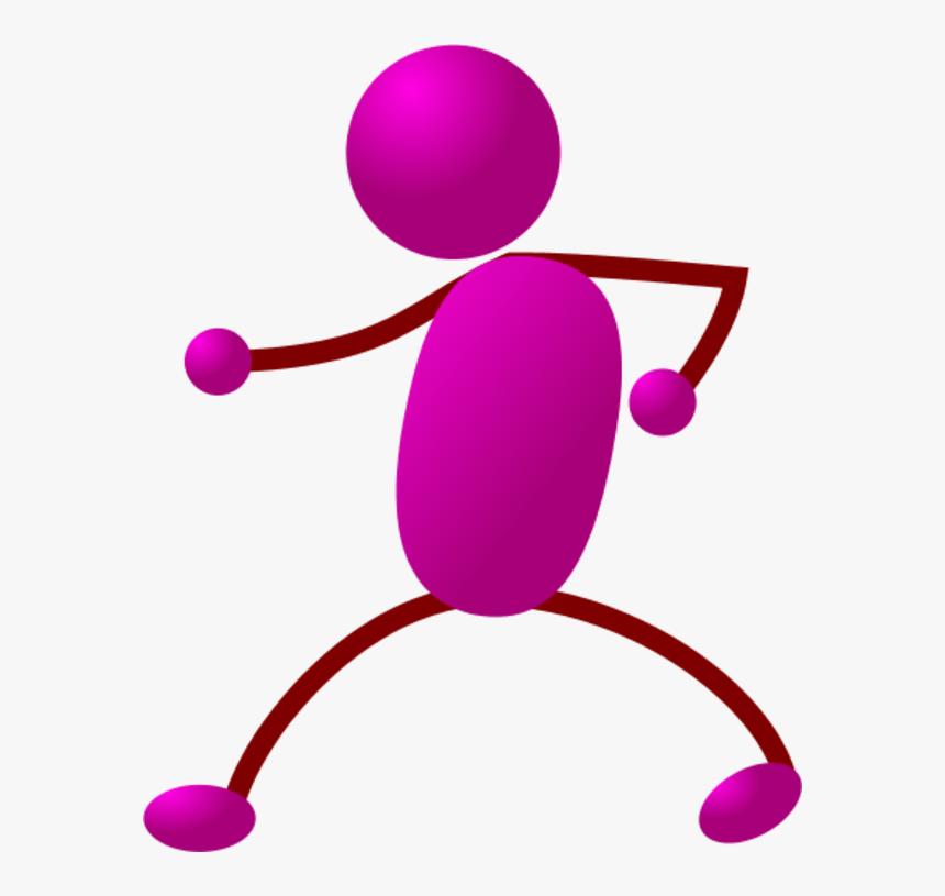 Happy Stick Man Dancing - Walking Stick Figure, HD Png Download, Free Download
