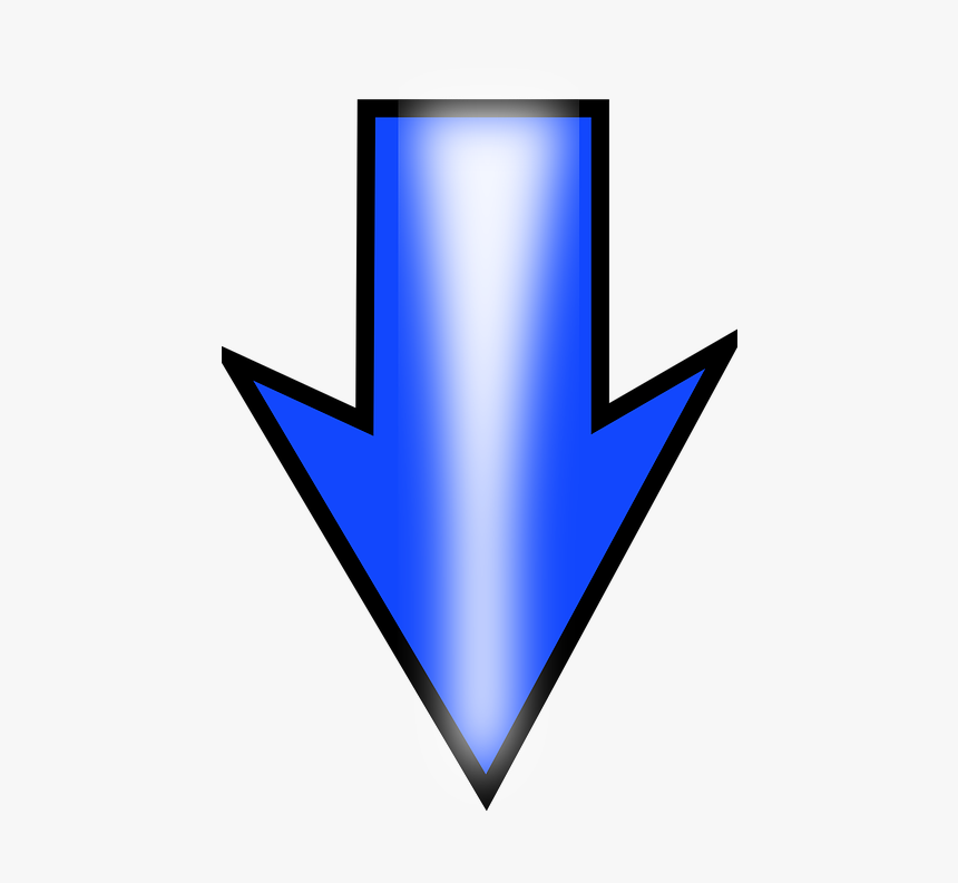 Down Arrows Free Clip Art, HD Png Download, Free Download