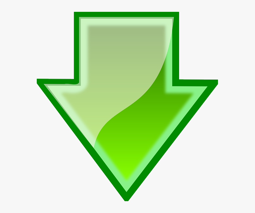 Internet, Green, Icon, Symbol, Arrow, Down, Free, File - Arrow Green Up Png, Transparent Png, Free Download