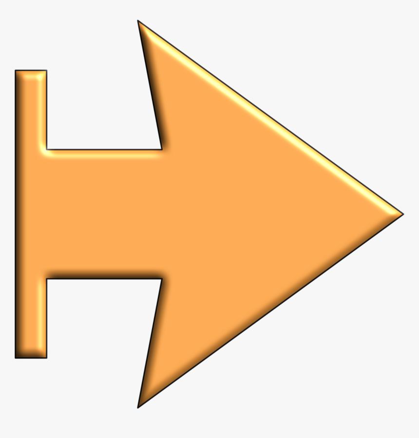 Clipart Arrow Orange, HD Png Download, Free Download